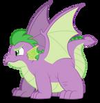 Grown up Spike - GRRRRRR!
