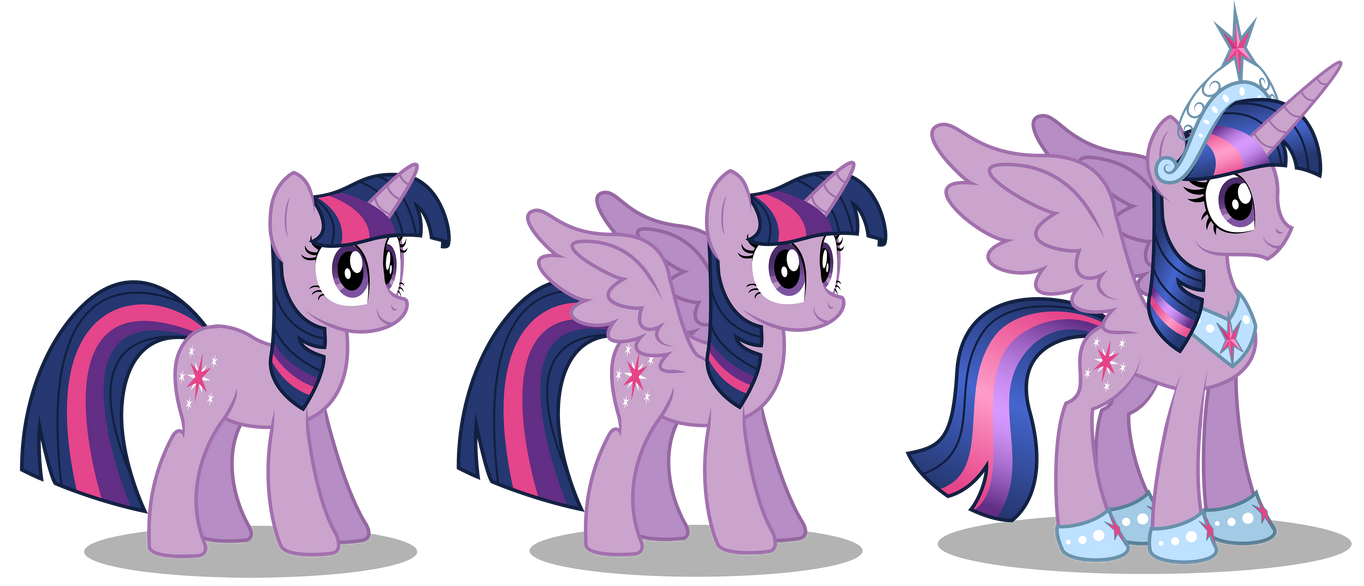 Older Princess Twilight Sparkle reference vector by AleximusPrime