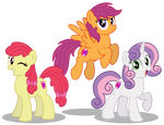 The Cutie Mark Crusaders 10 years later