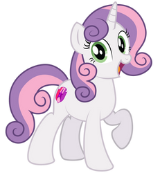 Sweetie Belle 10 years later