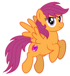Scootaloo 10 years later