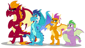 Dragons 10 years later