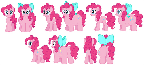Future Pinkie reference vector by AleximusPrime
