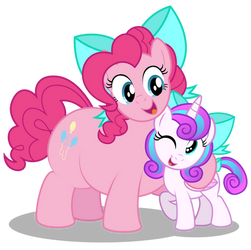 How's my little matching-bow mare?! by AleximusPrime