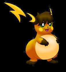 Alex the Chubby Raichu