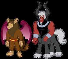 Prince Scorpan and Prince Tirek