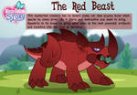 The Red Beast character bio card