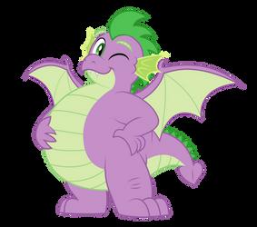 Grown up Spike - Chubby Dragon Boi