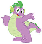 Grown up Spike - Can you believe this?