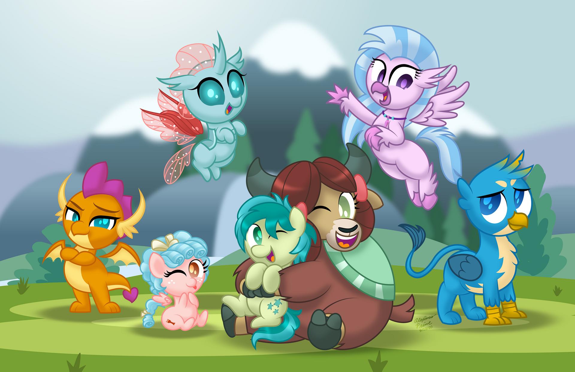 Chibi Ponies: Students