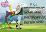 Discord character bio card