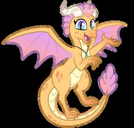 Commission: PrettyPinkP0ny dragon OC