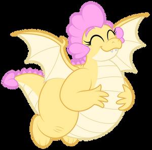 Buttercream - Happy flying dragoness