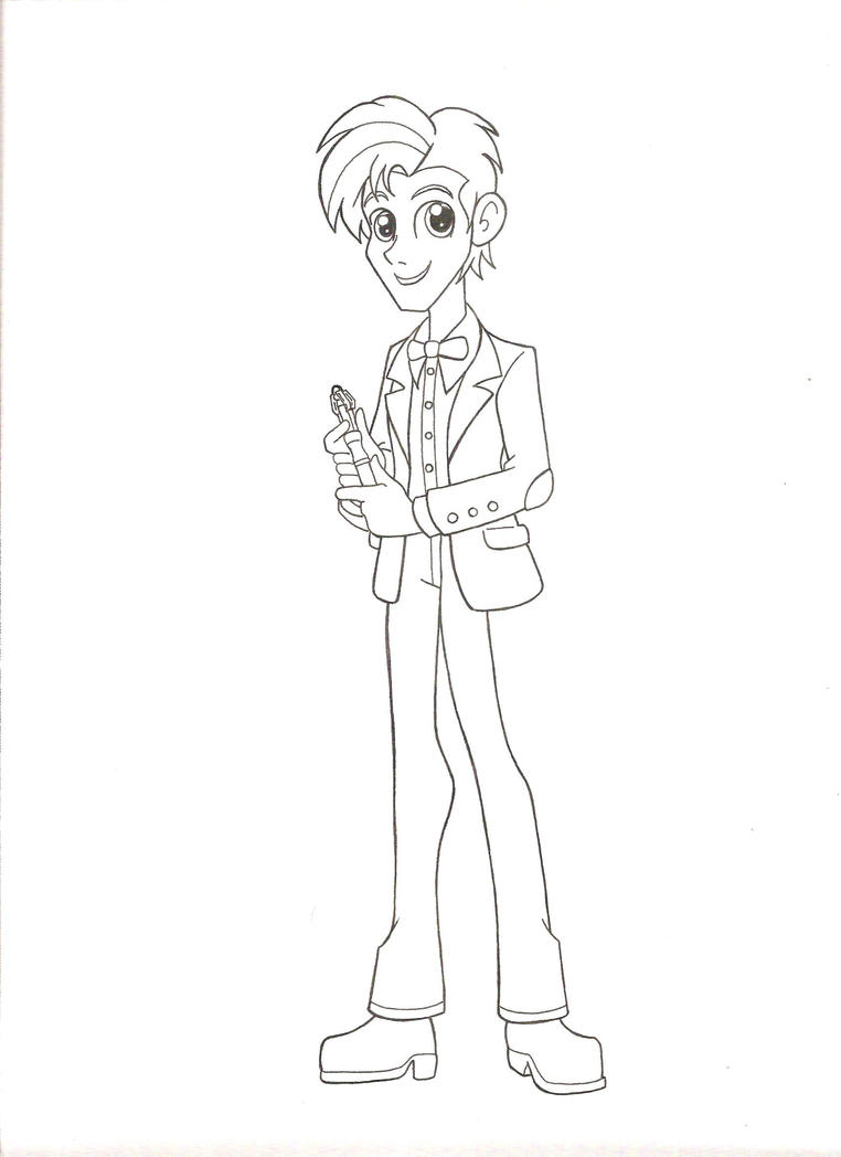 Equestria Girls Doctor Who: Eleventh Doctor by jmkplover