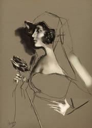 Vintage Girl by Senoviya