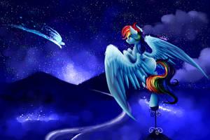 Midnight Flight by Moeru789