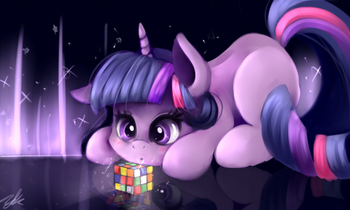 Rubik's Cube by Moeru789