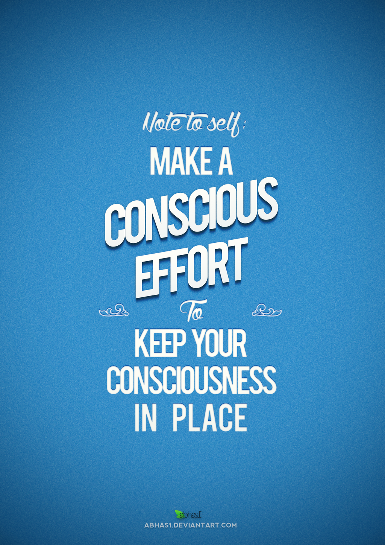 Conscious Advice by abhas1