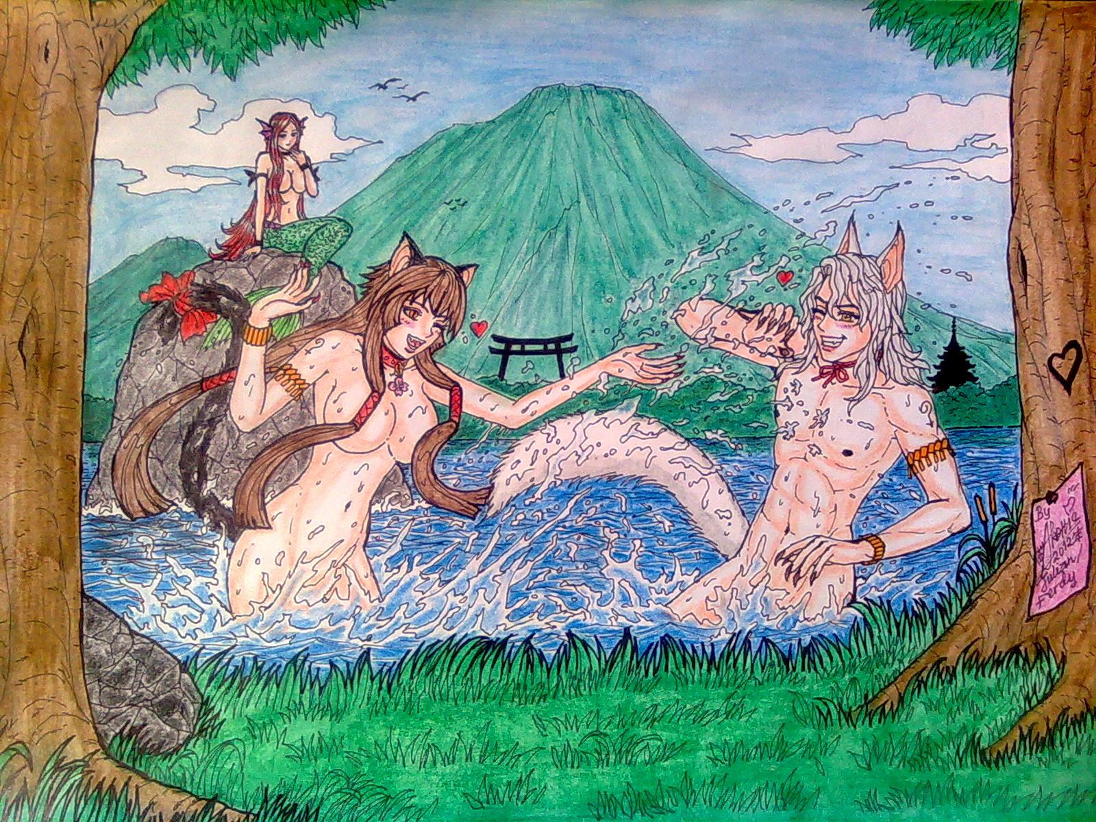 Anime Wolf Boy And Girl 41275 Loadtve