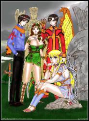 PAN SOLUS the Uthopian Kingdom Heroes