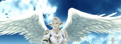 Elven Angel by Bloom-Enchantress