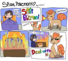 spirit pokemon by Dawr