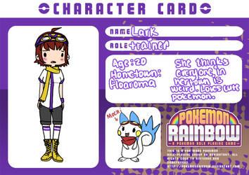 Pokemon Rainbow application by Dawr