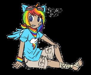 Rainbow Dash by Dawr