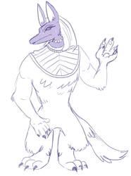 Anubis thing by Dawr