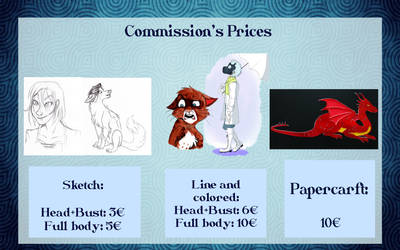 Commission Prices by Jane-Pr