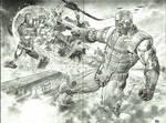 Deathlok vs Iron Man