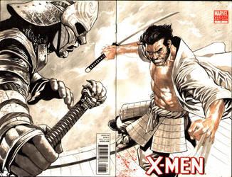 Samurai Wolverine- in progress