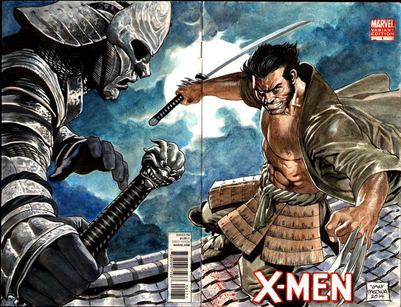 Samurai Wolverine- final by thepunisherone