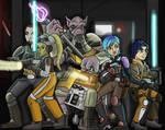 Star Wars Rebels: Sneaking