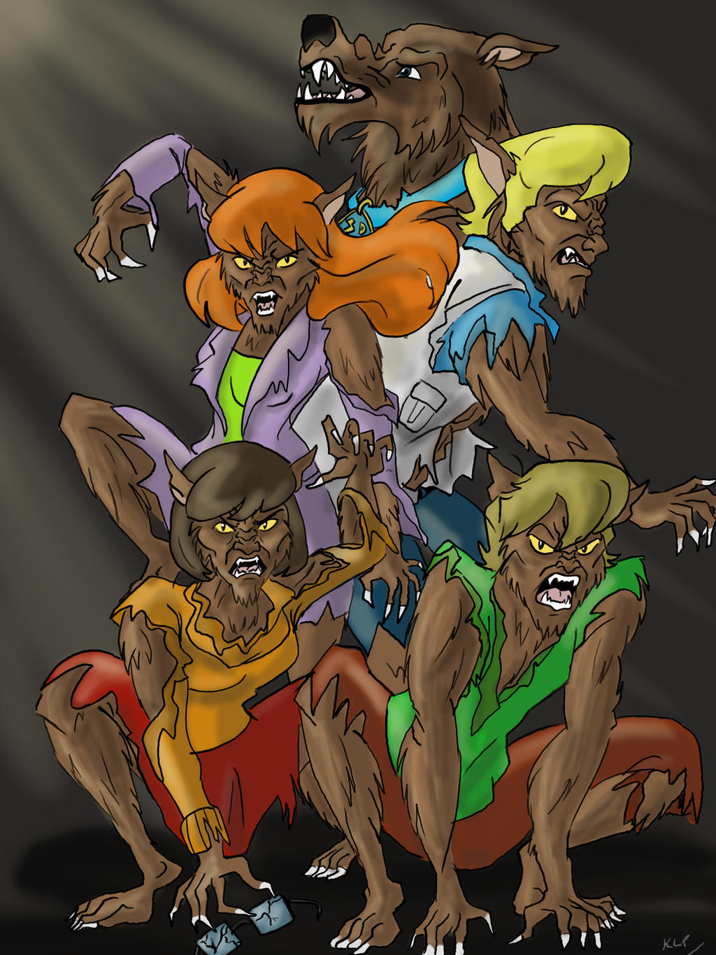 Scooby Doo: Werecats and Werewolf by AvengerBlackwidow on ... | 1024 x 1365 jpeg 308kB