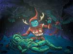 Moonscape Psychopomp