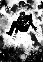 Wolverine vs Sentinel by Botonet
