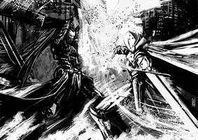 Commission - Ivy vs Seu by Botonet