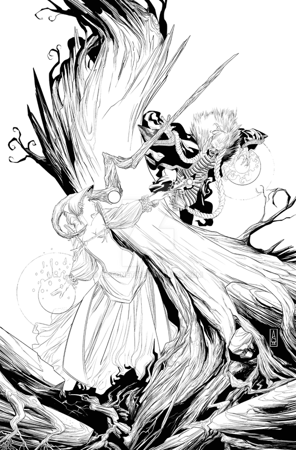 TWW Ongoing cover#19 by Botonet