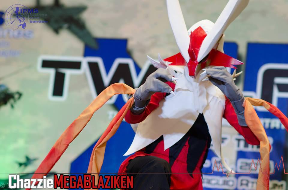 Mega Blaziken (Pokemon) IPMS 12 by ZuntherXPro