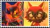 Infinite x Gadget stamp by Dorito-Queen-Celeste