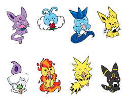 Pokemon Shrinky Dinks Set 1