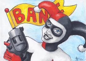 Harley Quinn Aceo