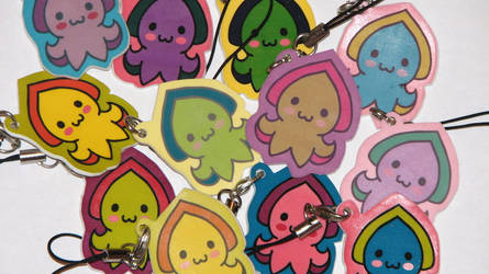 Cuddlyfish Cellphone Charms