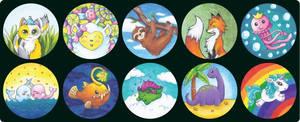 My Kickstarter Illustrations