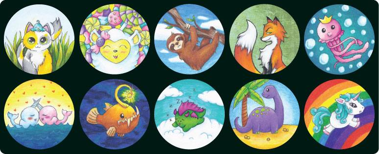 My Kickstarter Illustrations by HottieHulio