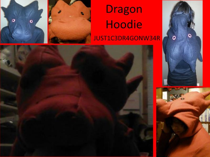 Dragon Hoodie by konics