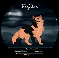 Squirrelkit | FogClan | WB by Avomeir