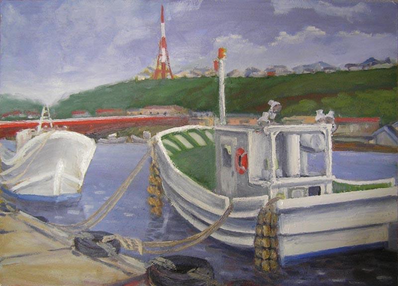 Fishing boats by muoto
