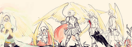 Rise and Fall of Archangel Michael by Rosiana